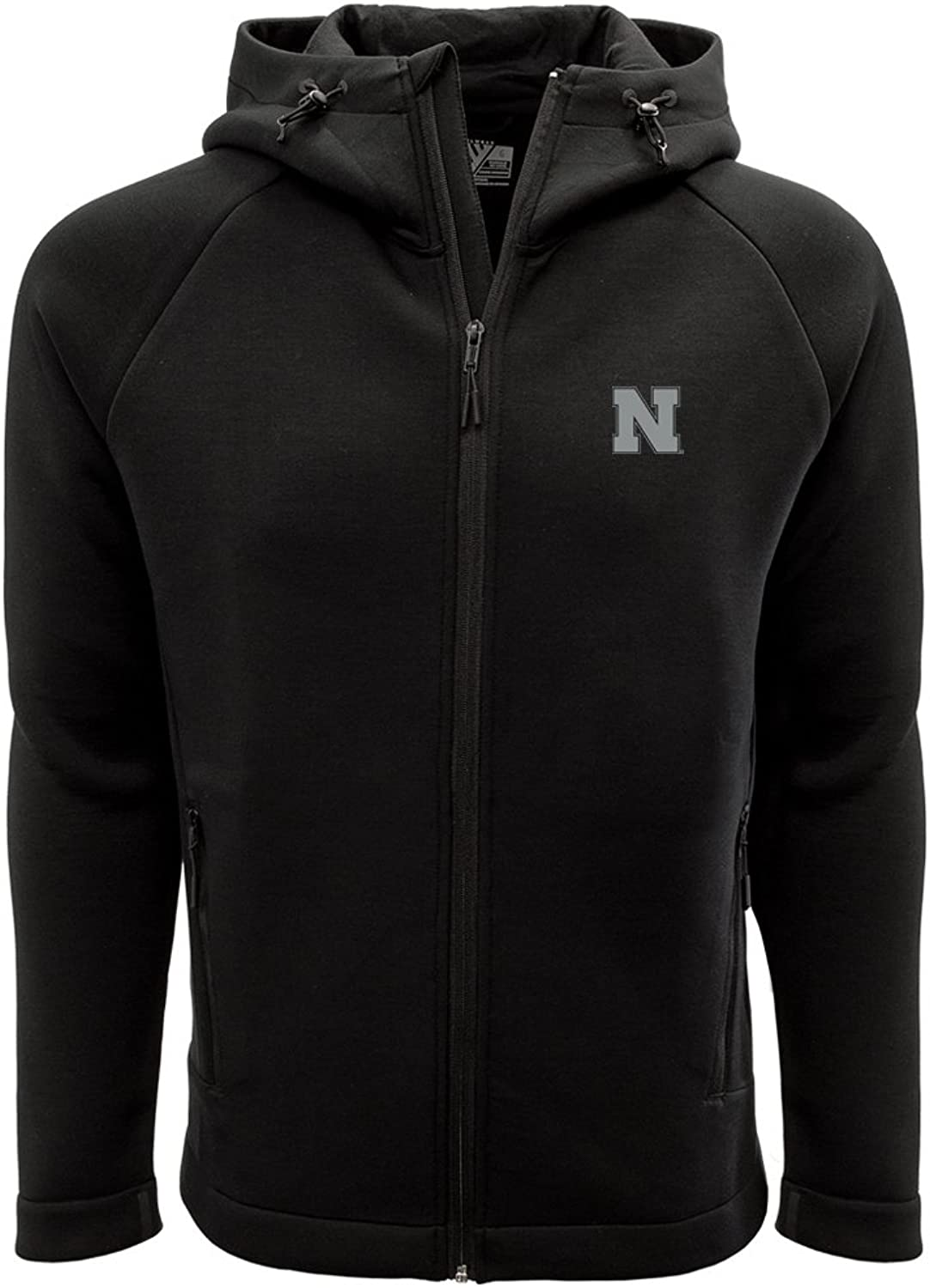 NCAA Mens Titan Insignia Strong Style Full Zip Hooded Jacket