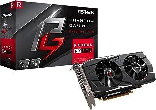 ASRock Phantom Gaming D Radeon RX 570 DirectX 12 RX570 4G بطاقة فيديو جاهزة 256-Bit GDDR5 PCI Express 3.0 x16 HDCP