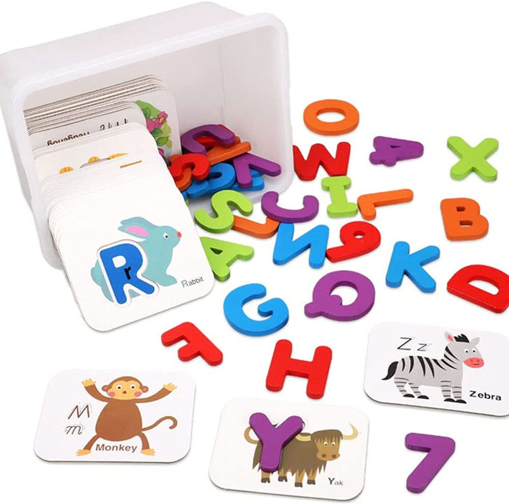 Washington Mall Sxcespp Number and Letter Puzzle for Young Cards Infants National products Chi