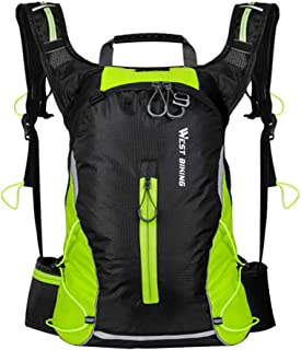 Mochila de ciclismo leve BESPORTBLE para uso ao ar livre, leve, para lazer, bolsa de viagem, equipamento de equitação 16L...