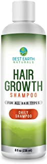 Hair Growth Shampoo with DHT Blockers for Healthy Hair Growth, Hair Loss, Slow Growing and Thinning Hair for Men and Women 8 Ounces