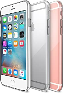 iPhone 6S Case, Maxboost [Liquid Skin] iPhone 6 Case [0.4mm] Soft Flexible Extremely Thin Gel TPU SkinFeels Like Nothing There Scratch-Proof iPhone 6 (2014) / 6S 4.7