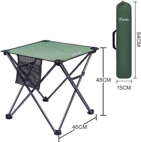 LPYMX Tabouret Pliant portable extérieur Camping Chaise de Plage Chaise de pêche Tabouret Table et Chaise (Couleur   I)