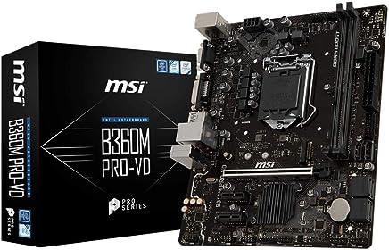 MSI B360M PRO-VD m-ATX Intel Coffee Lake LGA 1151 Motherboard