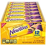Newtons Soft & Fruit Chewy Fig Cookies, 12 Snack Packs (2 Cookies Per Pack)