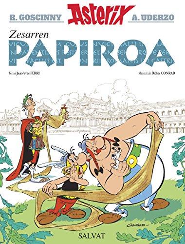 Zesarren papiroa (Euskara - 10 Urte + - Asterix - Bilduma Klasikoa)...