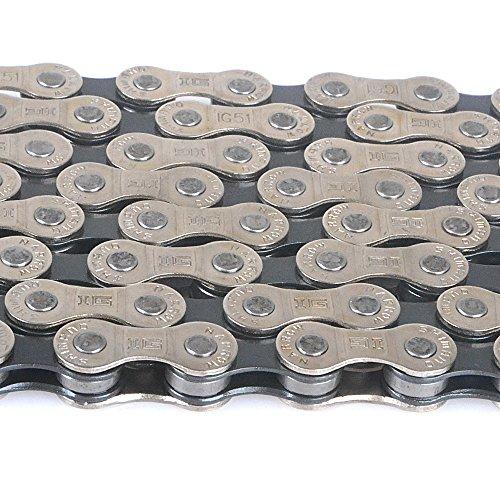 Kette 116 Glieder 6/7/8-fach Fahrradkette fuer Shimano CN-IG51 Neu - 4