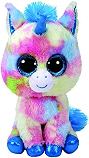 Claire's Ty Beanies Girl's Ty Beanie Boo Small Blitz the Unicorn Plush Toy