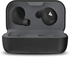 Boult Audio Airbass Powerbuds True Wireless Earbuds With 120 Hours Total Playtime With Case Touch Controls IPX7 Waterproof In Built Power Bank For Mobile Charging Black