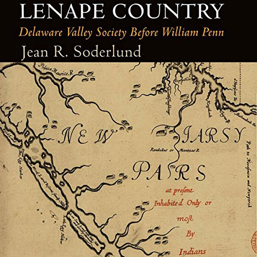 Lenape Country audiobook cover art