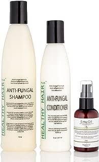 Healthy Hair Plus - Anti Fungal Scalp Treatment Kit Targets Scalp Fungus and Irritation. Anti Fungal Scalp Treatment Kit A complete