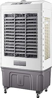 Ventilador doméstico de Aire Acondicionado, refrigerador portátil extraíble con Ruedas, Ventilador Industrial de Alta Potencia, Ventilador Vertical de Aire Acondicionado doméstico, Gris