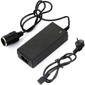 ACBungji KFZ Netzadapter Netzteil AC 230V auf DC 12V 10A 120W Universal Spannungswandler mit Zigarettenanz/ünder Buchse f/ür K/ühlboxen Ventilatoren K/ühlschrank Auto Luftkompressor Staubsauger