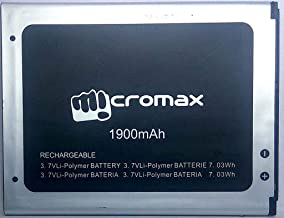 Shivoy Communication Compatible High Backup Replacement 1900mAh Battery for Micromax Canvas Fire 2 A104