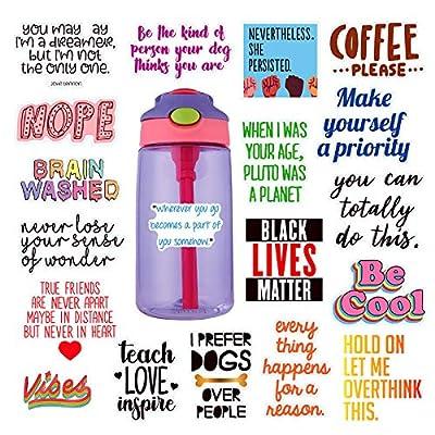 VSCO Girls Stickers Hydro Flask Waterproof Skat...