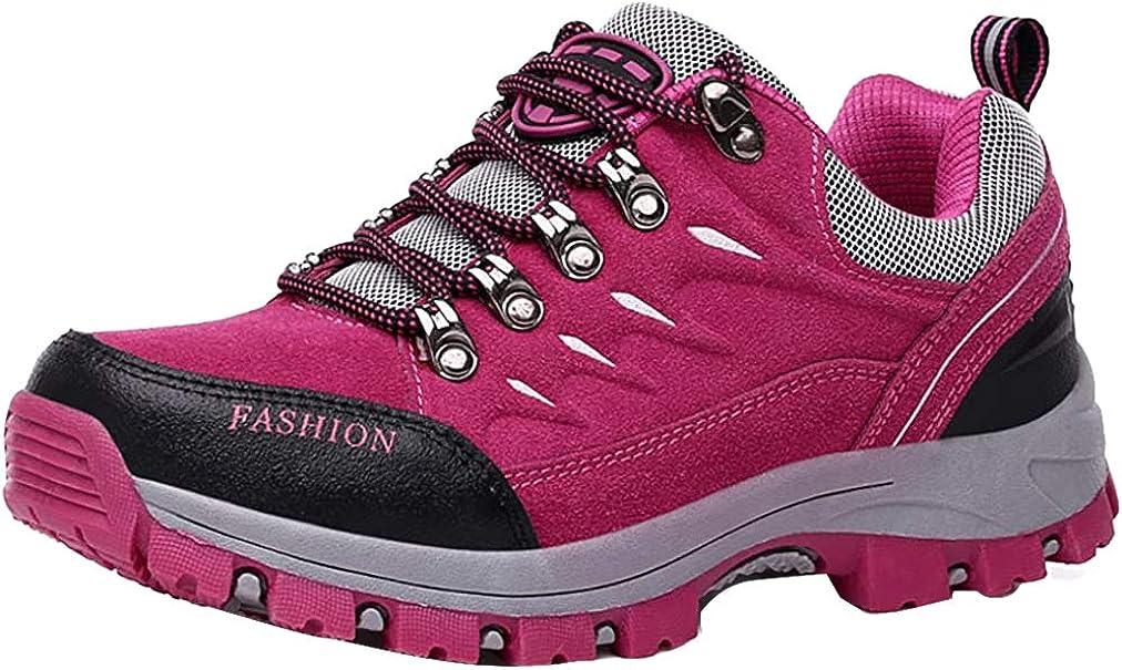 Easondea Zapatillas de Trekking para Hombres Mujeres Zapatillas de Senderismo Unisex Botas de Monta/ña Antideslizantes AL Aire Libre Zapatillas de Deporte