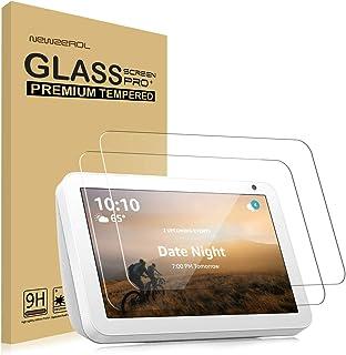 【2枚セット】Newzerol For Echo Show 8 専用 強化ガラスフィルム 新型【旭硝子素材・0.26mm・2.5D・耐衝撃硬度9H・透過率・飛散防止・気泡防止】エコーショー 8 タブレット用 液晶保護フィルム