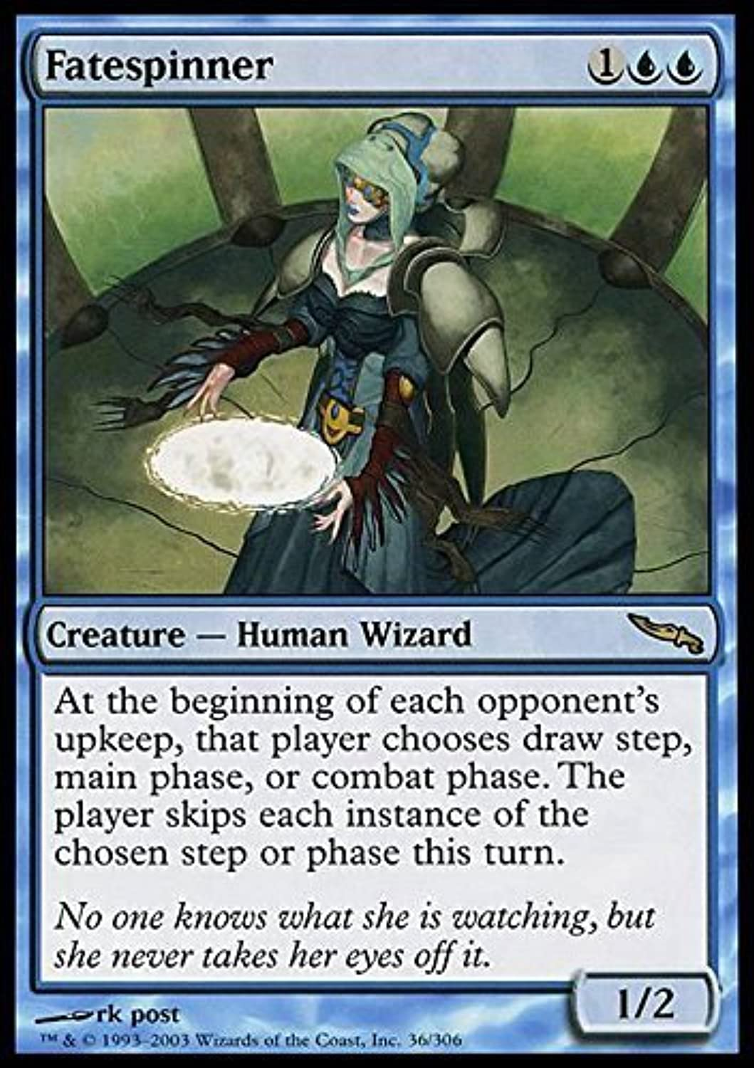 Magic  the Gathering  Fatespinner  Mirrodin by Magic  the Gathering