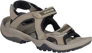 Woodland Men's Khaki Leather Sandals-7 UK/India (41 EU) (GD 2662117-7)