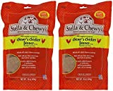 Stella & Chewy's Freeze Dried Dog Food for Adult Dogs, Chicken Patties, 14 Ounce Bag - 2 Pack