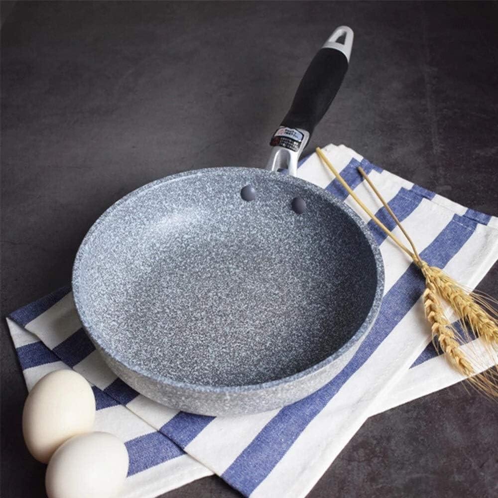 Wok Pan Frying Pan antiadhésive Poêle Cauldron Cuisinière à induction Wok Pan pain Egg Poêle au gaz Pan Pan Pancake jardin (Color : Pancake Pan) Frying Pan 28cm