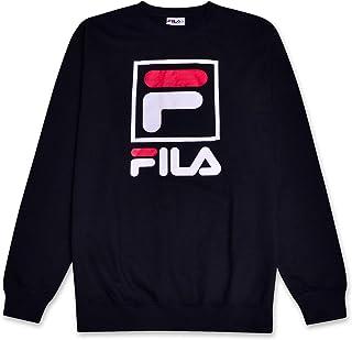 1e5314276f Fila - Sudadera de Cuello Redondo para Hombre con Logo francés de Rizo