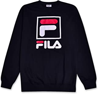 Sweatshirt for Men Big and Tall French Terry Crewneck...