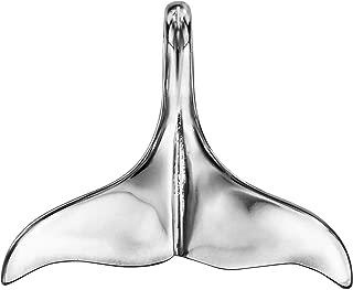 So Chic Joyas/© colgante colgante cola de Ballena /óxido de circonio blanco plata 925