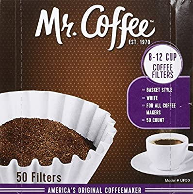Mr. Coffee 8-12 Cup Coffee Filters 50 Pack (2 Count - 100 Total Filters)