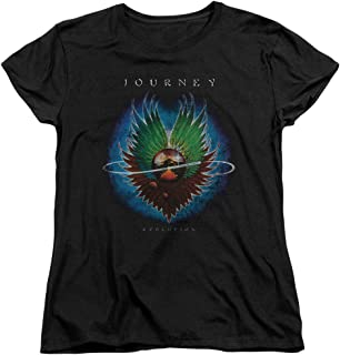 Journey 80's Rock Band Evolution Cover Women's T-Shirt Tee