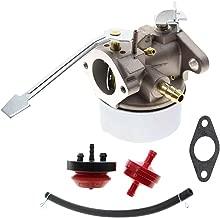 AUTOKAY New Carburetor Snow Blower Kit for Tecumseh 3HP 2 Cycle Toro Sears Craftsman MTD Yardmachine