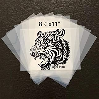 "8 ½""x11"" Waterproof Inkjet Transparency Film Paper 100 Sheets Silk Screen Printing Inkjet Film Paper"