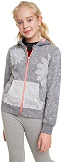 Desigual Sweatshirt Luisiana Maglia di Tuta, Grigio (Glaciar Grey 2082), 104 Bambina