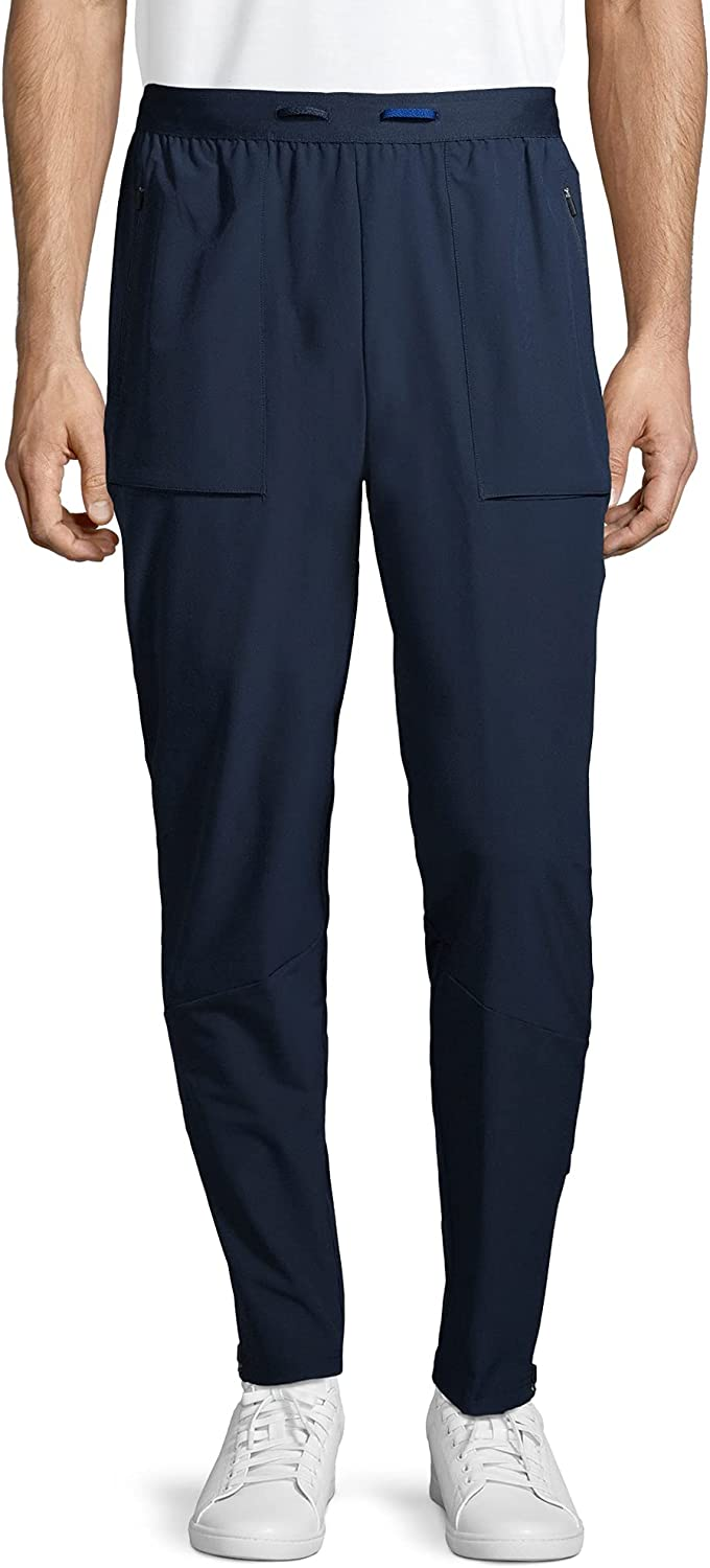 Russell Performance Men's Active Slim Stretch Woven Track Pants Moisture Wicking