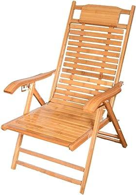JFya Klappstuhl Sessel Bambus Schaukelstuhl faltbar Haushaltsschl/äfchen k/ühlen Stuhl Alter Mann Freizeit gl/ücklich Stuhl Bambus Holz zur/ück Stuhl Bambus