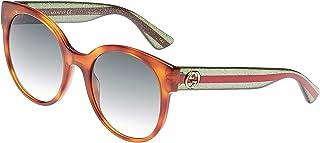 Gucci Oval Women's Sunglasses - GG0035S00454-54-22-140 mm