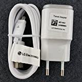 Originale Chargeur LG 1.8A + Cable Usb Data LG H540 G4 Stylus 3G / H635 G4 Stylus / H788 AKA / H815...