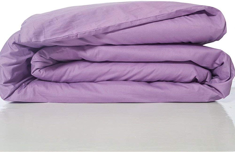 VIOY Article de literie Couleur Unie Cozy 100% Coton Couverture d'étudiant Couverture-M 180  220Cm (71X87Inch)