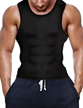 ADA Slimming Vest for Men Workout Tank Top Polymer Shapewear Sauna Vest for Weight Loss