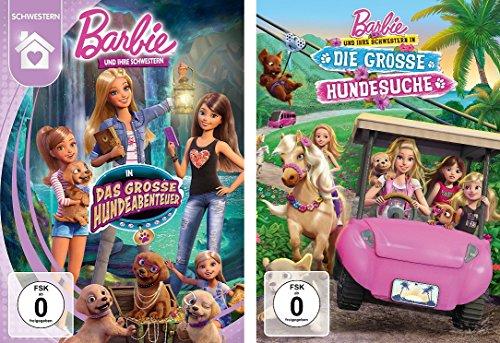 2 DVDs - Barbie und Ihre Schwestern : das große Hundeabenteuer & die große Hundesuche im Set - Deutsche Originalware [2 DVDs]