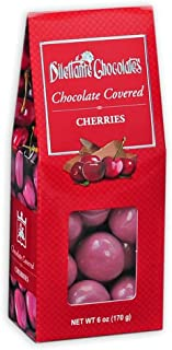 Chocolate Covered Cherries - 6 oz Gift Box - by Dilettante (4 Pack)