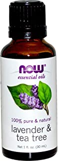 Now Foods Essential Oils Lavender & Tea Tree 1 fl oz (30 ml)
