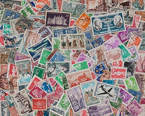 Goldhahn 200 Briefmarken Frankreich - Briefmarken für Sammler