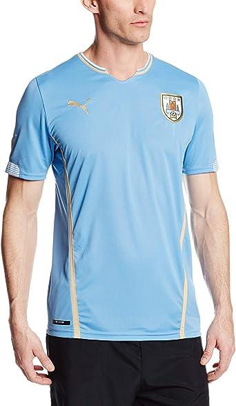 Puma Men's Uruguay Home Replica Soccer Jersey