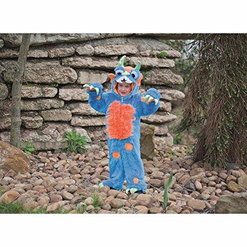 Amscan Dress Up MON-BL2 Kleid für Jungen und Jahre, Motiv: blaues Monster