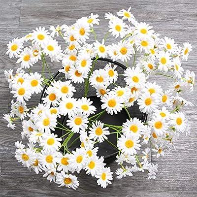 AmyHomie Artificial Flowers, Silk Daisy, Artificial Gerber Daisy for Home Decoration, Artificial Daisy for Wedding Decoration ?