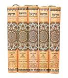 Karma Scents Premium Ylang Ylang Incense Sticks, 5 Set Gift Pack with a Free Holder in Each Box....