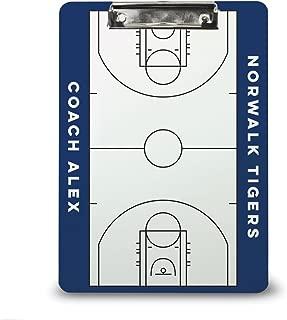 custom basketball coaches dry erase board