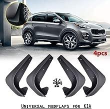 XUKEY Set Universal Mudflaps Mud Flaps Splash Guards Mudguards for Kia Pro Cee'd Forte K900 Optima Rio Carens Sportage Cerato Rondo Soul