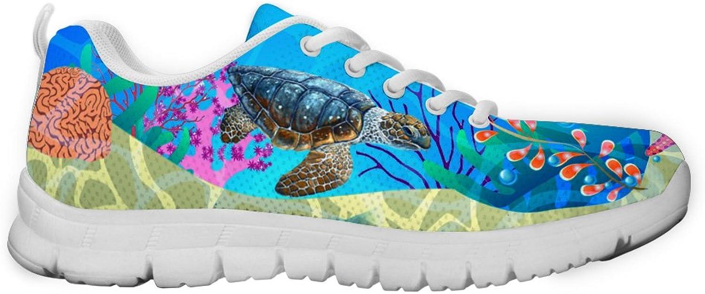 Gnarly Tees Men's Sea Turtle Sneakers